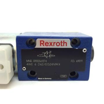 Directional Australia Korea Valve 4WE6D62/EG24N9K4 Bosch Rexroth 4WE-6-D62/EG24N9K4 *New*