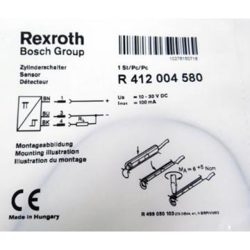 REXROTH Korea Russia R 412 004 580 R412004580 Sensor -unused-