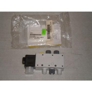 New! Dutch Canada Rexroth 5727490220 L3511 Pneumatic Valve 4 Way, 2 Pos, 24 VDC  Free Ship!
