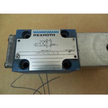 Mannesmann Mexico Australia Rexroth Solenoid Valve 4WP6C52/N/5 4WP6C52N5 RR00885051 Used