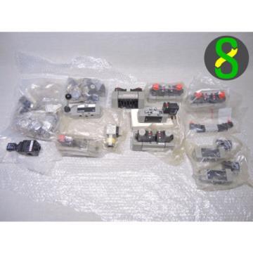 24x Dutch USA mix, BOSCH REXROTH pneumatik ventil 820, 821, 824 + 13x stecker