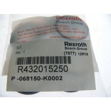 REXROTH Australia Mexico PNEUMATICS PISTON & TUBE KIT R432015250 NEW IN SEALED BAG! (F50)