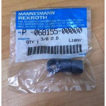 MANNESMANN Egypt Canada REXROTH P-068155-00000 3/8 O.D.