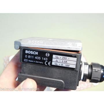 BRAND USA Greece NEW - Bosch Rexroth 0 811 405 143 Proportional Plug Amplifier