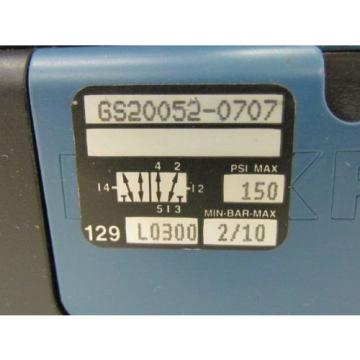 Rexroth Japan Singapore Ceram GS-20052-0707 110VAC Pneumatic Solenoid Valve