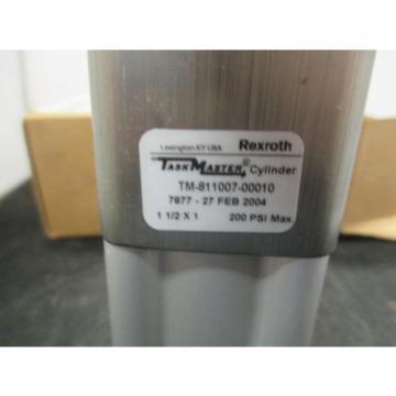 New Canada France Rexroth Pneumatic Cylinder Taskmaster 1-1/2 inch X 1 inch