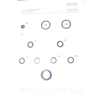 NEW Russia Greece Rexroth Bosch Seal Kit R900357604
