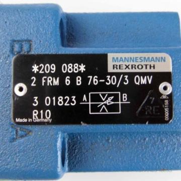 Rexroth India Japan 2-Wege Stromregelventil 2 FRM 6 B 76-30/3 QMV R900209088 NOV