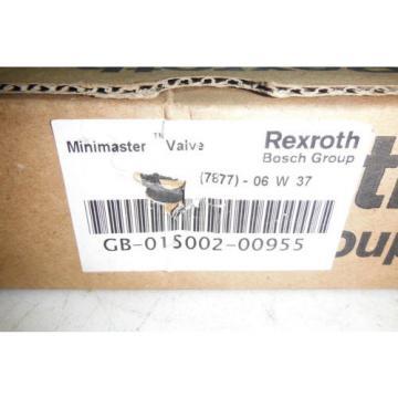 REXROTH China USA GB-015002-00955   MINIMASTER  VALVE  NEW