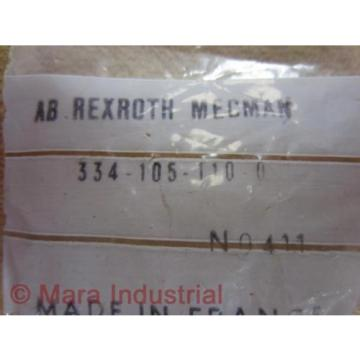 Rexroth Korea Japan Bosch 334-105-110-0 Exhaust Choke Silencer 3341051100 (Pack of 3)