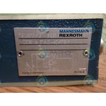 REXROTH Australia Mexico ZDR 6 DA2-42/75Y *USED*