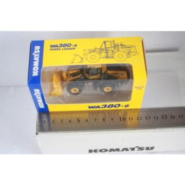 NEW 1/87 Komatsu Official WA380-8 Wheel Loader diecast model rare item 165