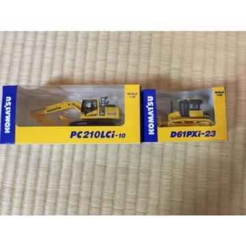 KOMATSU D61PXi-23 Crawler Dozer & c EXCAVATOR Japan Limited 1:87 F/S