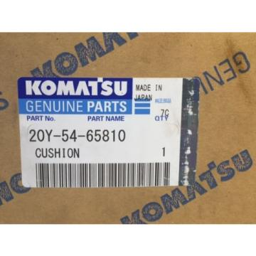 NEW Genuine KOMATSU 20Y-54-65810 Cushion for PC 7 Models Excavator Made in Japan