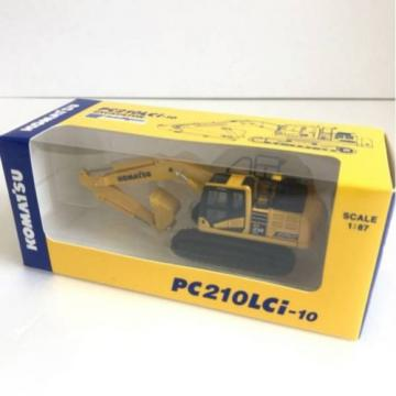 KOMATSU PC210LCi-10 1:87 EXCAVATOR Official Limited Product from Japan F/S