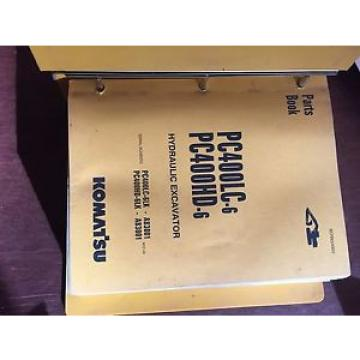 KOMATSU PC400 400HD-6  EXCAVATOR PARTS CATALOG BOOK MANUAL BEPB4006C0