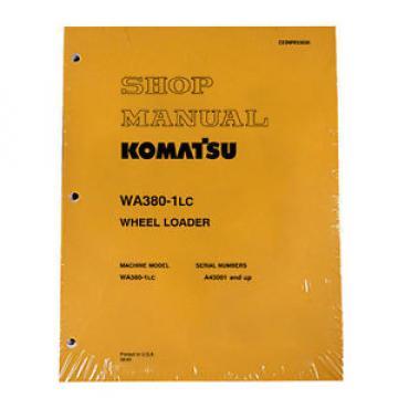Komatsu WA380-1LC Wheel Loader Service Shop Manual