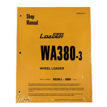 Komatsu WA380-3 Wheel Loader Service Repair Manual #1