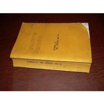KOMATSU 300 PC300 -5  EXCAVATOR PARTS CATALOG BOOK MANUAL S/N A70501