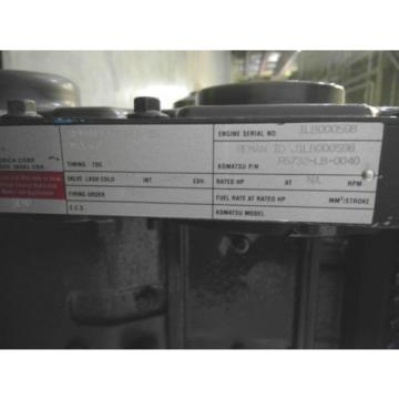REMANUFACTURED KOMATSU 3.9L LONG BLOCK_R6732-LB-0040