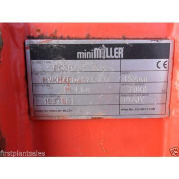 "18"" KOMATSU PC30/35 Digging bucket Pin 35mm D/W 145mm C/C 200mm (674/721)"