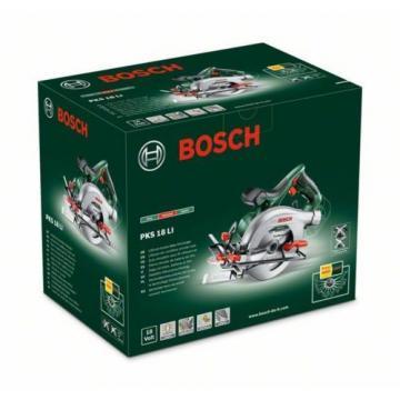 - Bosch - PKS 18 Li (BARE TOOL) Cordless Circular Saw 06033B1300 3165140743266.*