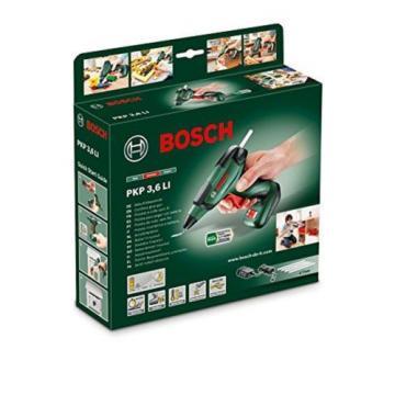 Bosch PKP 3.6 LI Cordless Lithium-Ion Glue Gun with 3.6 V Battery 1.5 Ah