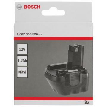 new-Genuine Bosch NiCAD 12V 1.2AH PRO BATTERY Drills 2607335526 3165140308151#