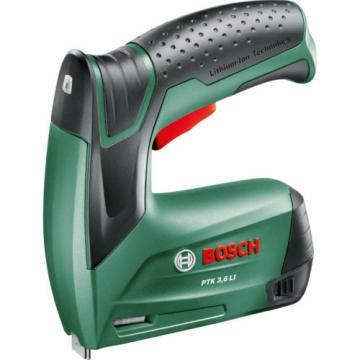 2 x new Bosch PTK 3,6 Li Cordless STAPLE GUNS  TACKER 0603968170 3165140601610*'