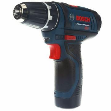 Bosch Li-Ion Drill/Driver Cordless Power Tool Kit 3/8in 12V Keyless PS31-2A