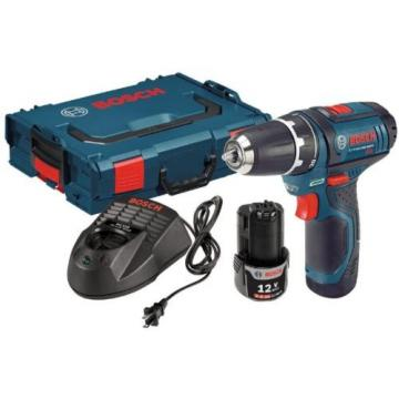 Cordless 12 Volt Lithium 3/8 In. Drill Driver 2Ah Batt Drilling Power Tool New