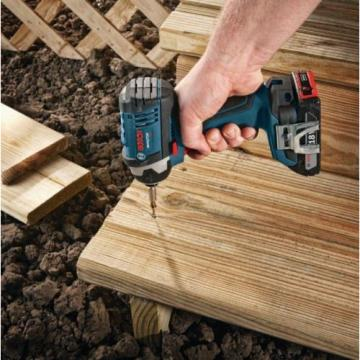 Lithium Ion Cordless 18 Volt 1/2 in Drill Driver 1/4 in Impact Driver Combo Kit