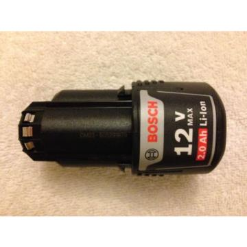 New Bosch BAT414 12V 12 Volt Max Lithium Ion 2.0Ah Battery Li-ion