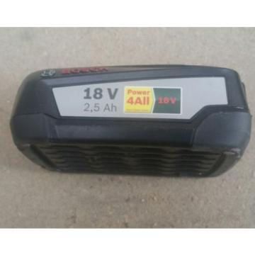 GENUINE BOSCH POWER4ALL 18V 2.5AH BATTERY NEW **UK POST ONLY**