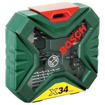 savers choice Bosch DIY 34 Piece X Line SCREWDRIVER SET 2607010608 3165140563147