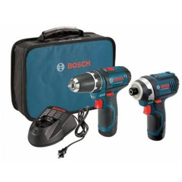 Bosch 12V Cordless Tool Combo Kit Electric Power Drill Impact Driver Battery NEW