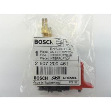 Bosch #2607200461 New Genuine OEM Switch for 32614 32609 32612 Drill Driver