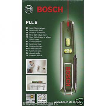 Bosch 5 m Laser Spirit level PLL 5 Multi Fix - factory new