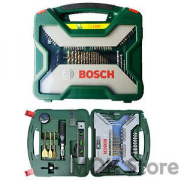 Bosch Multi-Purpose 100pc X line Bit Set Driver Drill Bits Bosch Accessories Set