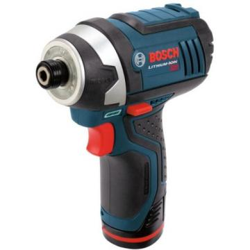 "Bosch Lithium-Ion Impact Driver/Drill Cordless Power Tool Kit 1/4"" 12V PS41-2A"