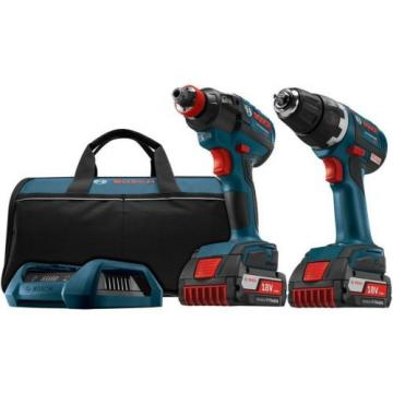 Drill Driver and Socket-Ready Impact 18-Volt Lithium-Ion Cordless 2 Tool Combo