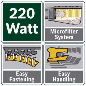 Bosch 220W Random Orbital Electric Power Sander Tool DIY, Hand, Easy Use New