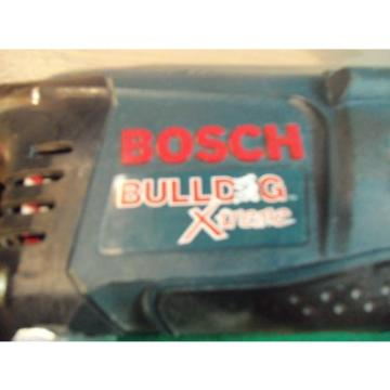 BOSCH BULLDOG EXTREME 11255VSR CORDED ROTARY HAMMER DRILL w/CASE - SDS PLUS