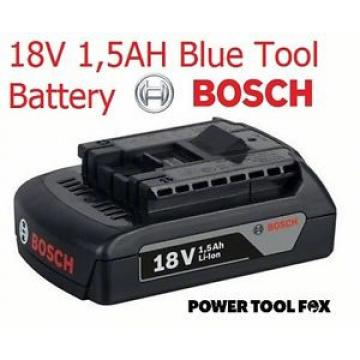 4 ONLY! Bosch 18v 1.5ah Li-ION Battery BLUE TOOLS ONLY 2607336803 #