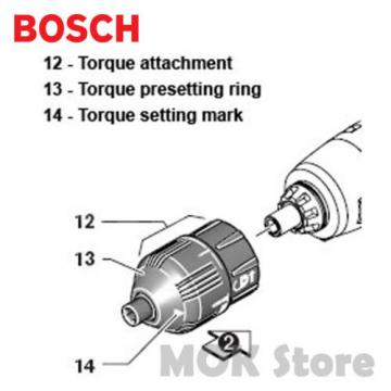 Bosch Torque Setting Adapter Attachment For IXO 3 & 4 3.6V 2609256968