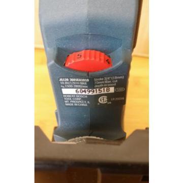 NEW BOSCH JS120BN 12V Max Cordless Barrel-Grip Jig Saw