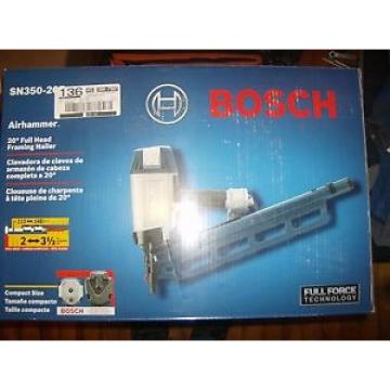 Bosch SN350-20F 20 Degree 3-1/2 in. Full Head Framing Strip Nailer - Brand New