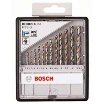 Bosch 2607010538 135 mm HSS-G Drill Bits (13-Piece)