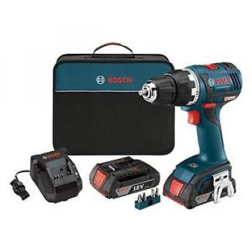 "Bosch 18V Li-Ion 1/2"" Brushless Compact Tough Drill Kit DDS182-02  BRAND NEW"