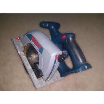 "FREE SHIP BOSCH 1662 18V VOLT 6 1/2"" CORDLESS CIRCULAR SAW AND DEWALT SAW BLADE"